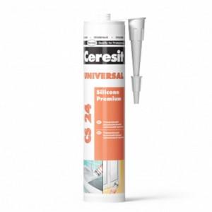 Силіконовий герметик CS 24 Ceresit (білий)