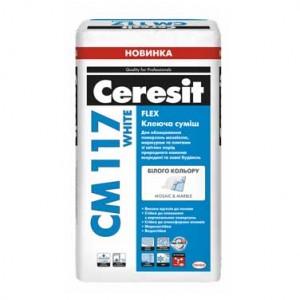 СМ 117 White Клей для плитки