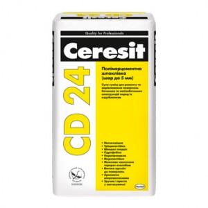 CD 24 Ceresit Полімерцементна шпаклівка (шар до 5 мм)